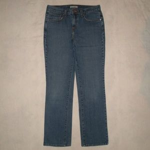 Levi's 505 Straight Leg Denim Jeans Size 8 M